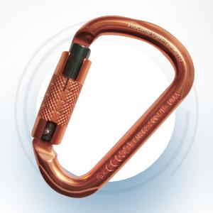 Copper Head Carabiner Triple Lock Gate