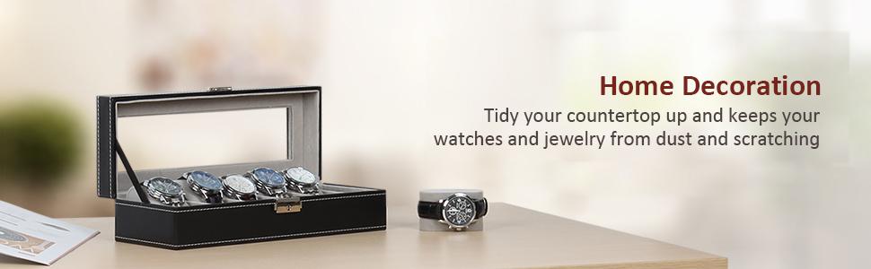 watch case box organizer