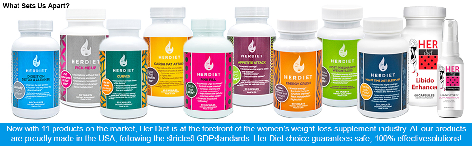 Her Diet is at the forefront of the women's weight-loss supplement industry