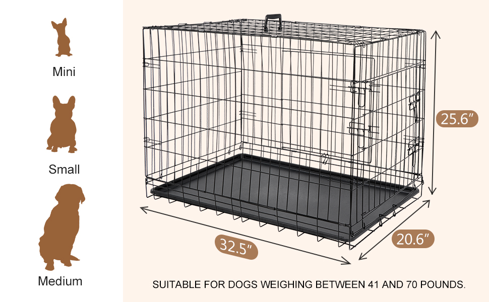 suitable for dogs adult weight of 41 to 70 pounds