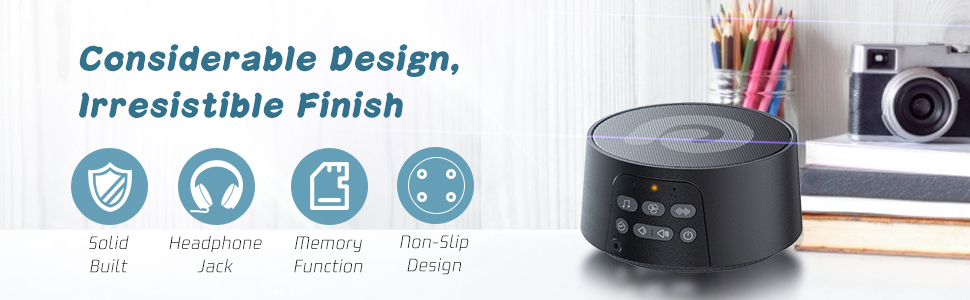 sleep therapy sound machine, white noise machine for sleeping