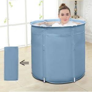 Portable bathtub brings relax