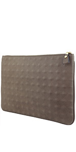 clutch, embossed, large, tablet case, stationary, work clutch,