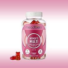 Meadbery Women Multi gummy