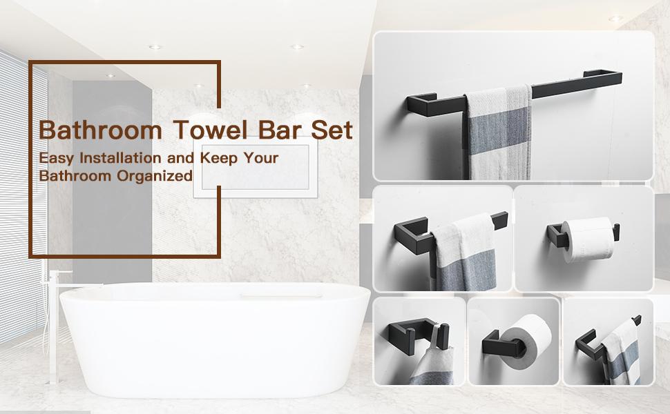 Towel Bar Set