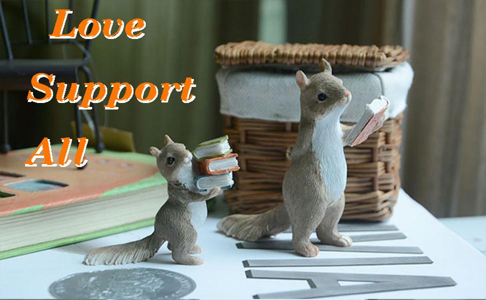 Raise Books Squirrel amp; Stand Reading Squirrel