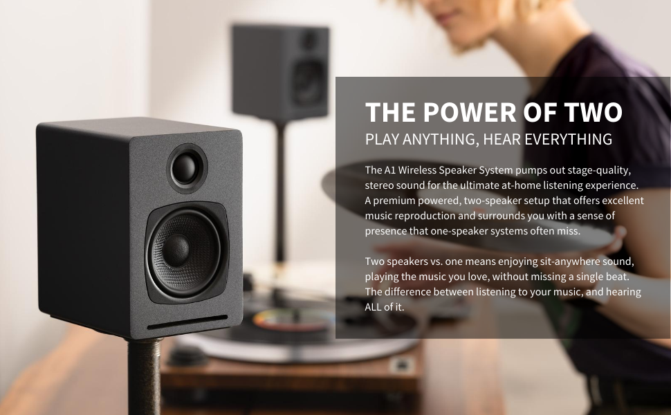 Audioengine A1 The Power of Two
