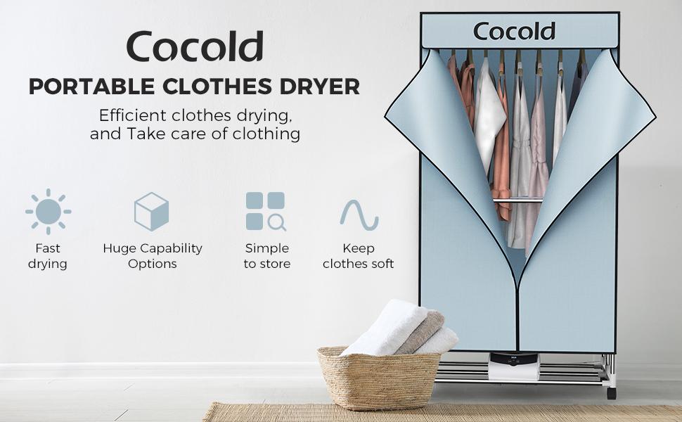 COLZER Portable Clothes Dryer