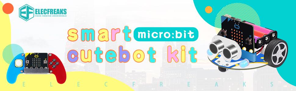 microbit cutebot robot car