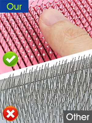 End Rounded Massaging Particles Bristles