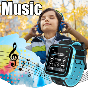 Kids Smartwatch for Boys Girls Phone Game Smart Watch for Kids Children Music Player Birthday Gift