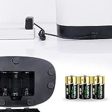 Dual Betrieb, Netzstecker oder Batterie