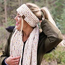 headwrap and infinity scarf bundle