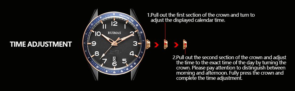 mens automatic quartz watches