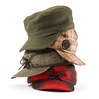 Stack of Stormy Kromer Hats