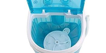 Washing machine with spin basket