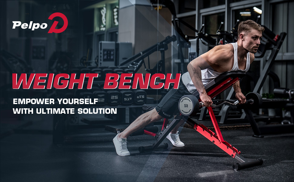 Pelpo weight bench