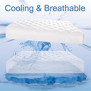 Cooling Mattress pad