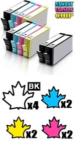 564 xl hp 564 xl compatible hp 564xl ink Photosmart 5510 5512 5515 5520 OfficeJet 4610 4620 4622