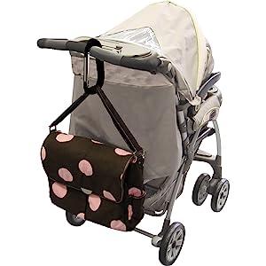 Clip'n Go Stroller Hook Clip Diaper Bag Baby Gear Organizer Baby Accessory