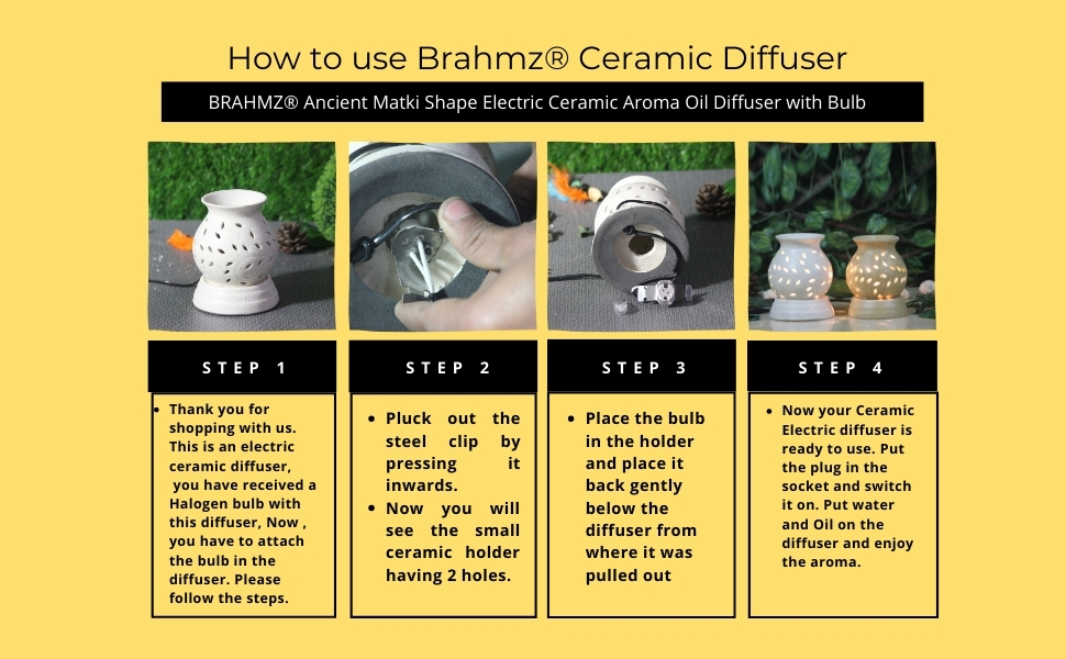 electric aroma diffuser, scented diffuser, aromatherapy, aroma diffuser, aroma warmer by brahmz