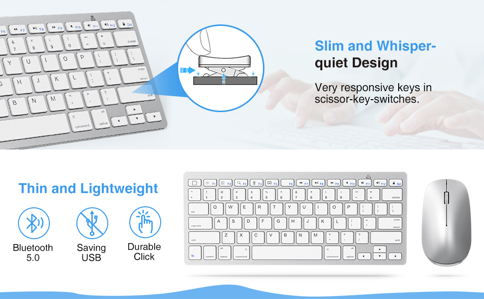 ipad keyboard and mouse combo