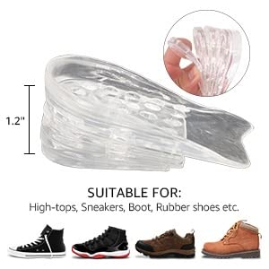 5 layer silicon shoe insole