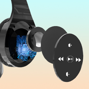 Wireless Headphones with Touch Control_2-1