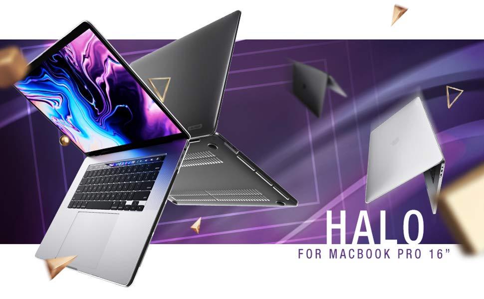 i-Blason Funda para MacBook Pro 16 Pulgadas Ultra Delgado Carcasa Transparente Protectora Estuche con Cubierta Teclado: Amazon.es: Electrónica