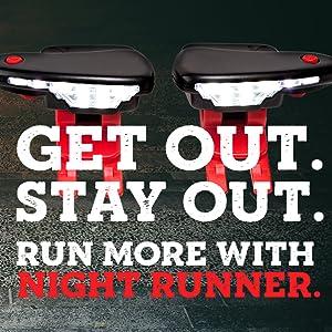 night runner lights for shoes running at night