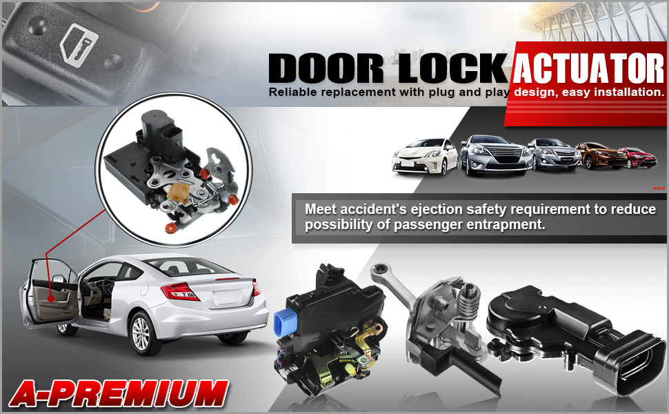 door lock actuator