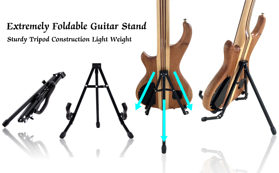 guitar stand acoustic electric guitar stand