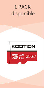 KOOTION Micro SD 16GB Clase 10 Tarjeta MicroSD Pack 3 Tarjetas Memoria Micro SD SDHC 16 Giga, para Gopro Cámara Deportiva Switch Tablet Teléfonos, TF Card de Alta Velocidad de Lectura hasta