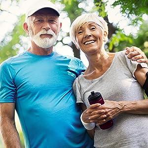 hydrogen water bottle for active seniors