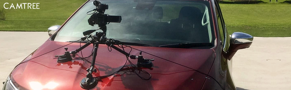 Camtree G-51 Suction Car Mount
