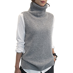 Women's Sleeveless Turtleneck
