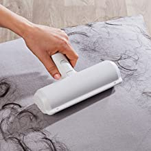 Removes pet hair without damaging the fabric
