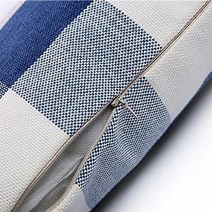 linen throw pillow 12 x 20
