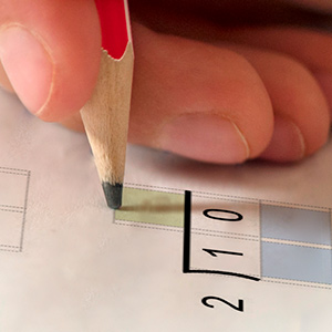 Thicker paper allows both sides of the page to be printed and written on.