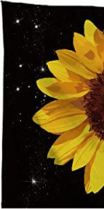 sunflower quote tapestry wall hanging