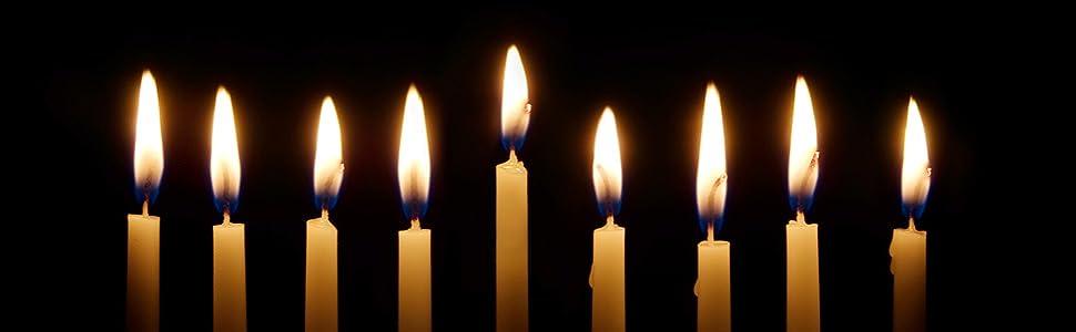 Hanukkah candle holders 0004