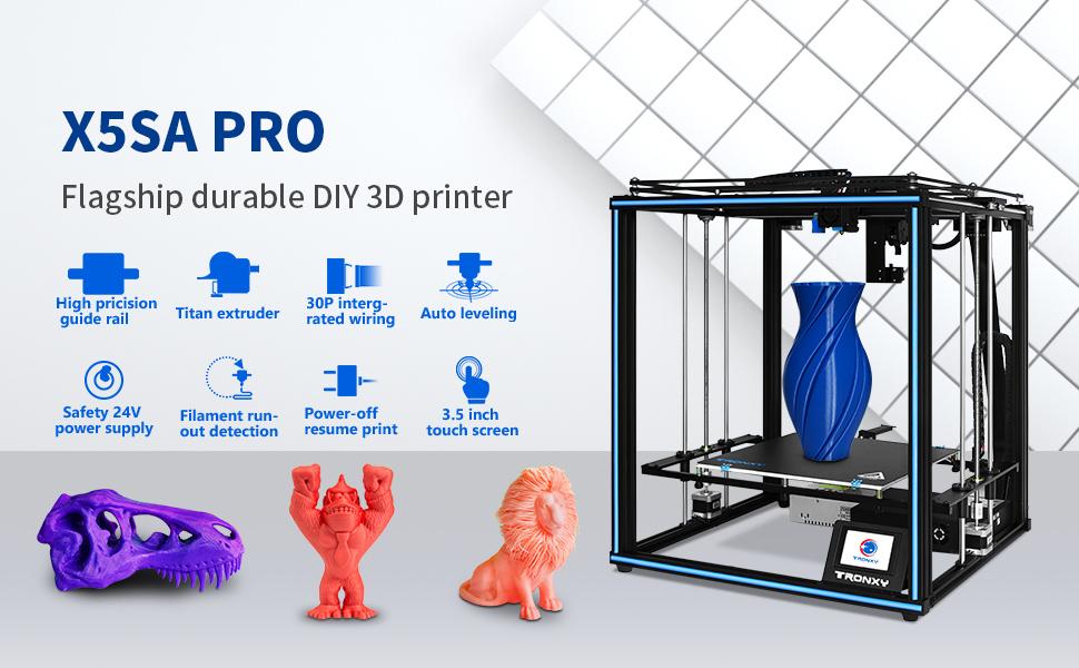 X5SA Pro Large Size 3D Printer