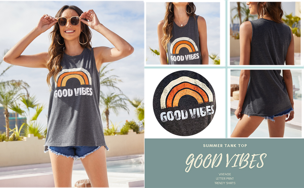 tank tops for women summer casual