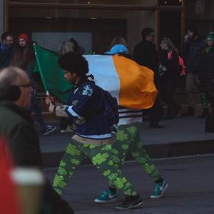 shamrock leggings for Saint Patrick's Day
