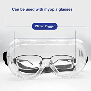 Spectacle myopia Safety Goggles Protective Eye wear Goggle