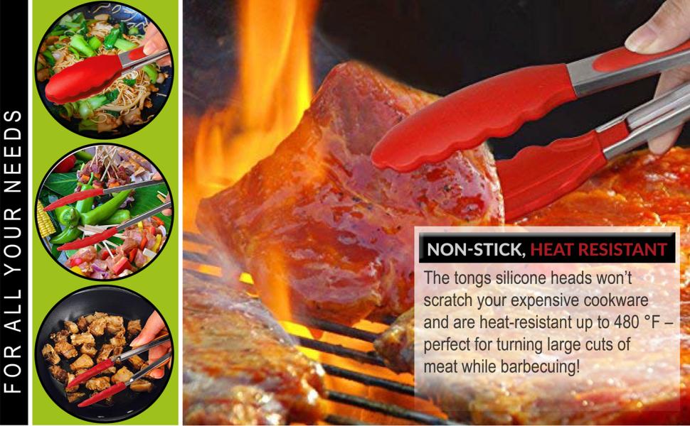 non stick heat resistant