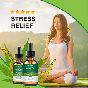 Hemp Oil for Pain, Anxiety & Stress Relief