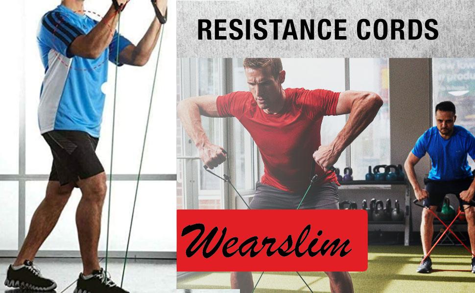 Wearslim Premium Resistance Band Exercise Cord