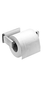 Auxmir Toiletpapierhouder zonder boren, zelfklevend, wc-rolhouder
