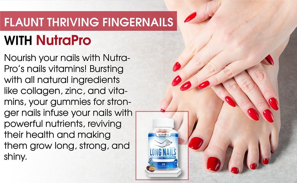 flaunt thriving fingernails